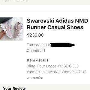 adidas Shoes - SWAROVSKI ADIDAS NMD!